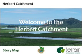 Story map and catchment profile for the Herbert catchment, Wet Tropics