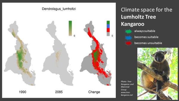 Species Distributions for Climate Change Image