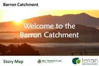 Barron Catchment Story Map