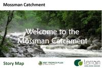 Mossman Catchment Story Map